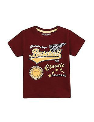 Cherokee Boys Crew Neck T-Shirt - Pack Of 3