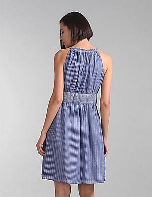 GAP Stripe Halter Dress