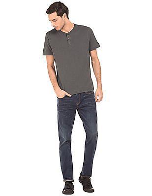 Aeropostale Slub Knit Henley T-Shirt