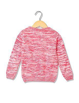 Cherokee Girls Long Sleeves Crew Neck Sweater