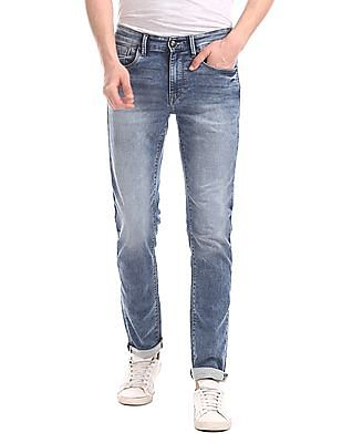 U.S. Polo Assn. Denim Co. Blue Regallo Skinny Fit Stone Wash Jeans