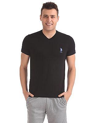 USPA Innerwear Short Sleeve V-Neck T-Shirt