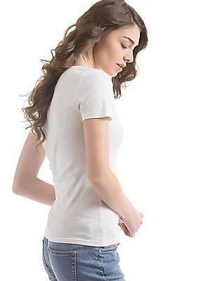 Gant Regular Fit V-Neck T-Shirt