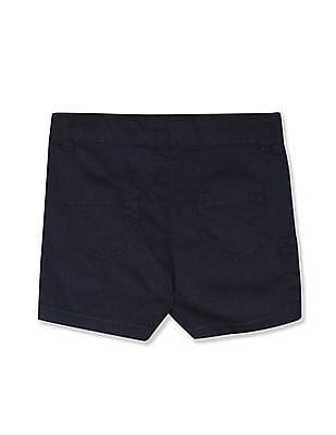 Donuts Blue Boys Woven Cotton Shorts