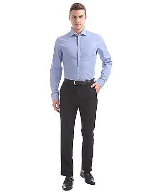 USPA Tailored Tailored Fit Striped Shirt