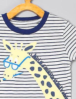 GAP Baby Stripe Graphic Short Sleeve T-Shirt