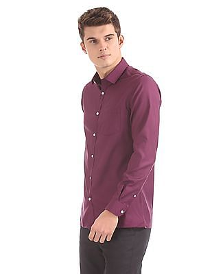 Excalibur Long Sleeve Solid Shirt