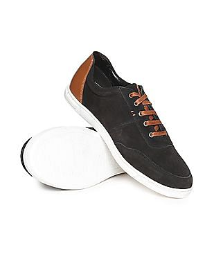 U.S. Polo Assn. Contrast Trim Low Top Sneakers