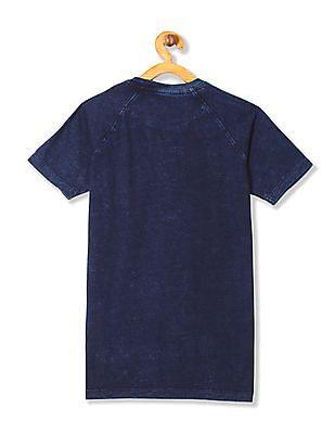 U.S. Polo Assn. Kids Boys Short Sleeves Henley T-Shirt