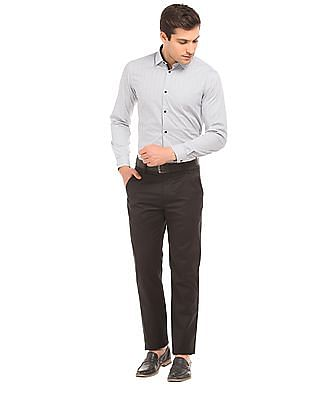 Arrow Newyork Printed Skinny Fit Shirt