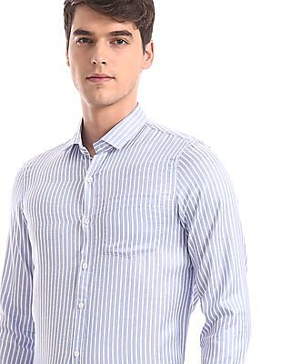 Excalibur Assorted Mitered Cuff Patch Pocket Shirt - Pack Of 2