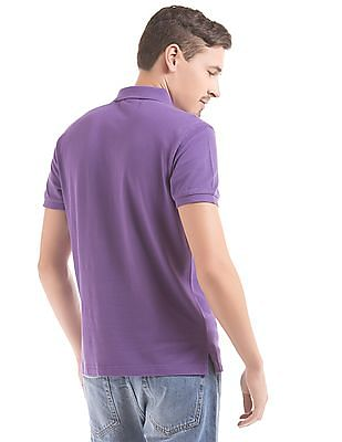 Gant Solid Fitted Polo Shirt