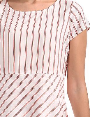 Cherokee Striped High Low Top