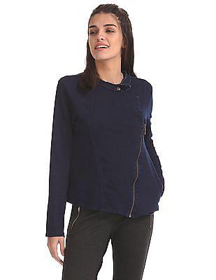 Elle Lapel Collar Knit Jacket