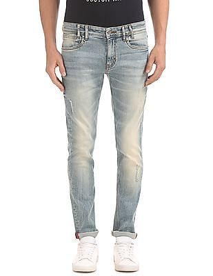 Izod Stone Wash Slim Fit Jeans