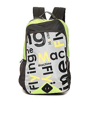 Flying Machine Word Cloud Laptop Backpack