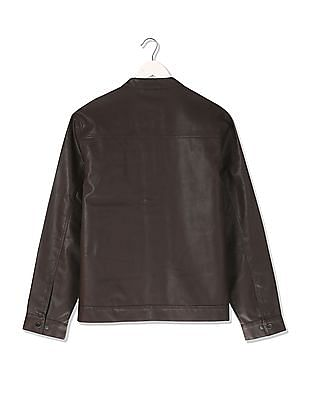 Izod Slim Fit PU Jacket
