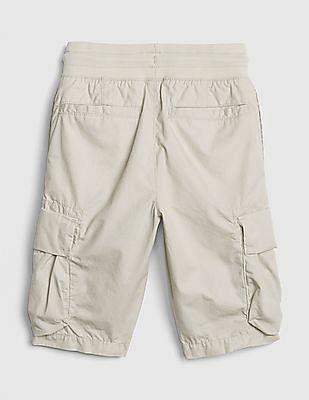 GAP Boys Pull-On Cargo Shorts in Poplin