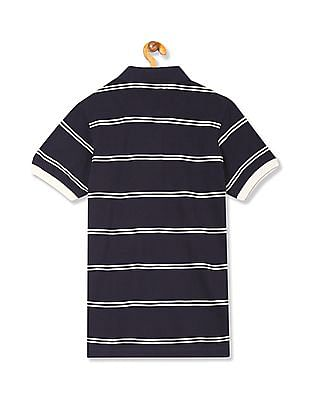 Arrow Sports Regular Fit Stripe Polo Shirt