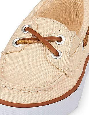 The Children's Place Toddler Boy Beige Slip-On Boat Shoe