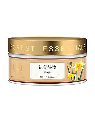 FOREST ESSENTIALS Velvet Silk Body Cream - Nargis