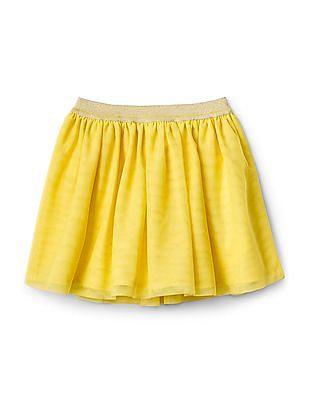 GAP Toddler Girl Neon Skirt In Tulle
