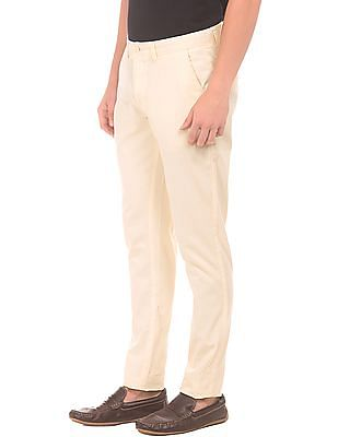 Ruggers Tapered Fit Textured Trousers