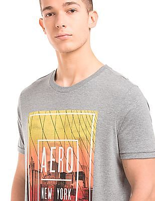 Aeropostale New York Photo Print T-Shirt
