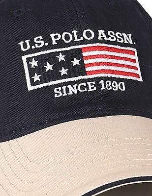 U.S. Polo Assn. Colour Blocked Baseball Cap