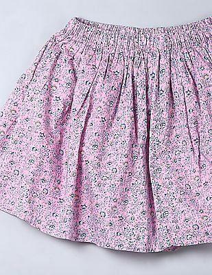 GAP Girls Print Flippy Skirt