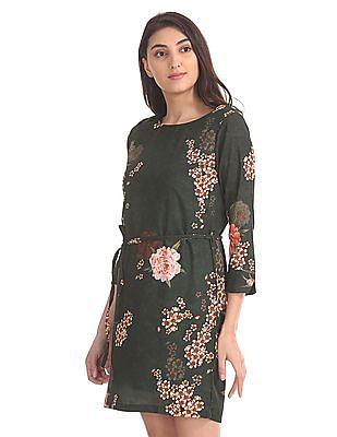 SUGR Floral Print Shift Dress