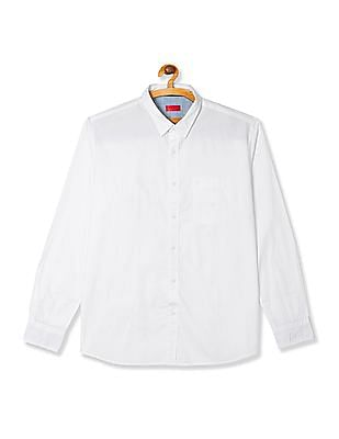 Izod Slim Fit Solid Shirt