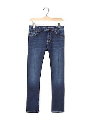 GAP Boys 1969 High Stretch Slim Jeans