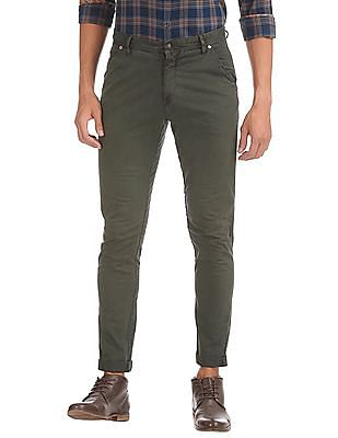 Ed Hardy Relaxed Fit Twill Trousers