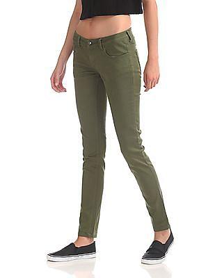 Flying Machine Women Twiggy Super Skinny Fit Low Waist Jeans