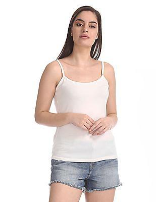 Unlimited Adjustable Strap Cotton Spandex Camisoles