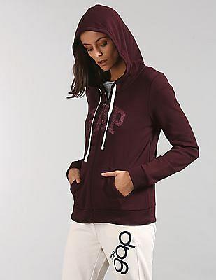 GAP Logo Applique Hooded Sweatshirt