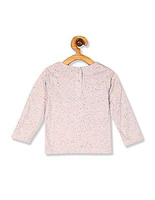 Donuts Girls Long Sleeve Printed Top