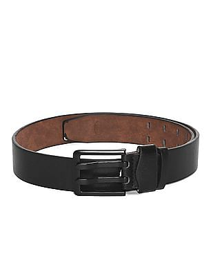 Colt Black Adjustable Metallic Buckle Belt