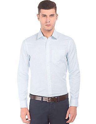 Arrow Slim Fit Printed Shirt