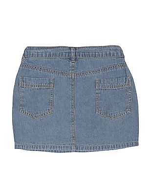 Cherokee Girls Regular Fit Denim Skirt