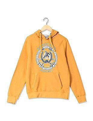 U.S. Polo Assn. Denim Co. Standard Fit Printed Sweatshirt