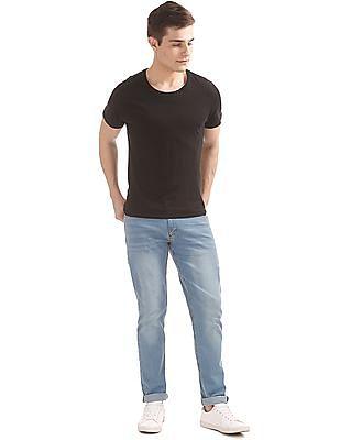 Newport Stone Wash Slim Fit Jeans