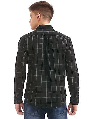 Colt Long Sleeve Windowpane Check Shirt