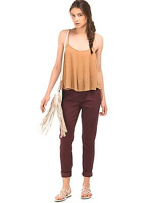 Aeropostale High Waist Twill Jeggings