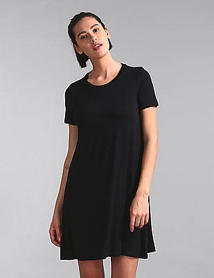 GAP Solid Knit Dress