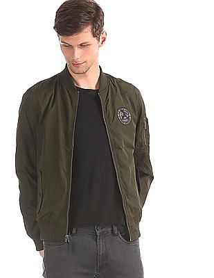 U.S. Polo Assn. Denim Co. Olive And Navy Reversible Bomber Jacket