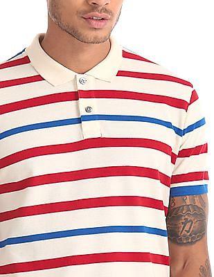 Ruf & Tuf Regular Fit Printed Polo Shirt