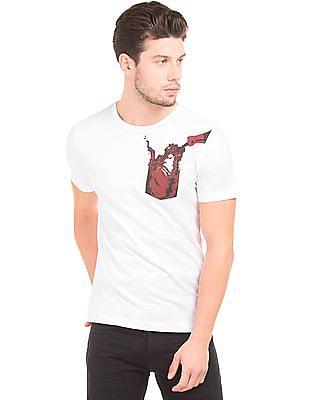 Colt Round Neck Cotton T-Shirt