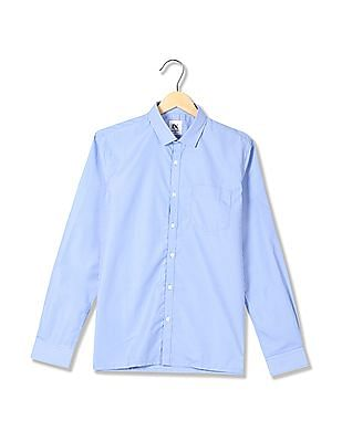 Excalibur Long Sleeve Semi-Cutaway Collar Shirt - Pack Of 2